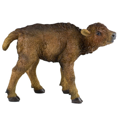 Bison Buffalo Baby Calf Figurine