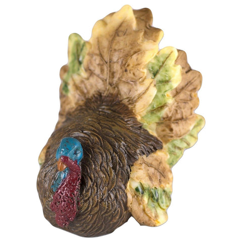 Mini Thanksgiving Turkey Figurine