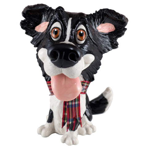 Little Paws Gyp Border Collie Dog Figurine