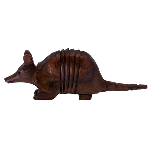 Armadillo Hand Carved Ironwood Wood Figurine 11