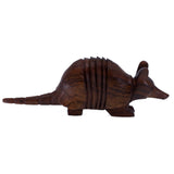 Armadillo Hand Carved Ironwood Wood Figurine 22