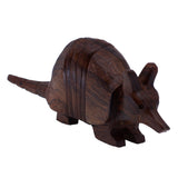 Armadillo Hand Carved Ironwood Wood Figurine 33