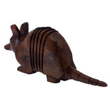 Armadillo Hand Carved Ironwood Wood Figurine 44