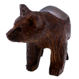 Bear Hand Carved Ironwood Wood Figurine 3
