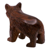Bear Hand Carved Ironwood Wood Figurine 5