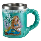 Mermaid With Pearl Mug 1