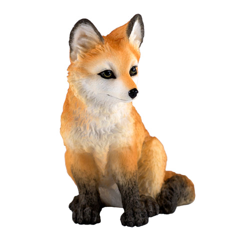 Red Fox Pup Kit Figurine 2