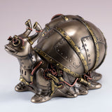 Steampunk Snail Figurine Trinket Box 3