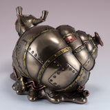 Steampunk Snail Figurine Trinket Box 4