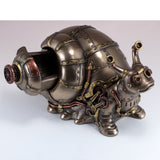 Steampunk Snail Figurine Trinket Box 5