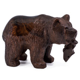 Bear wood carving 1092a