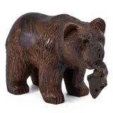 Bear wood carving 1092b