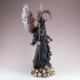 Steampunk Grim Reaper Fairy With Scythe and Skulls 4