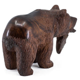 Bear wood carving 1092e