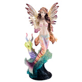 Mermaid Fairy With Seahorse Sea Dragon Figurine 1