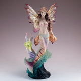 Mermaid Fairy With Seahorse Sea Dragon Figurine 5