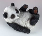 Panda Bear On Back Figurine 2