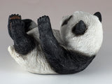Panda Bear On Back Figurine 3