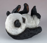 Panda Bear On Back Figurine 4