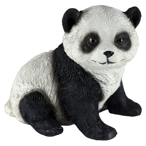 Panda Bear Sitting Figurine