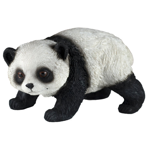 Panda Bear Walking Figurine
