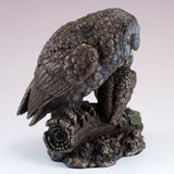 Barn Owl With Baby Owlet Figurine 4