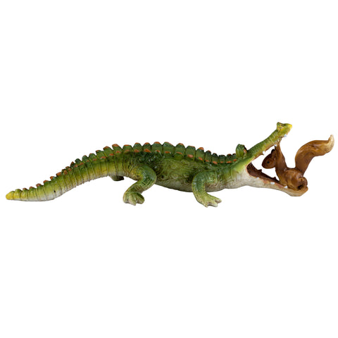 Chompie The Gator's Dental Check-up Figurine 1