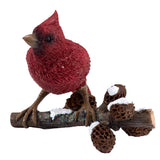 Little Cardinal On Tree Branch Figurine 1