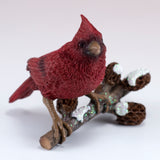 Little Cardinal On Tree Branch Figurine 2
