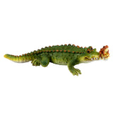 Chompie The Gator With Frog Alligator Figurine 1