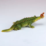 Chompie The Gator With Frog Alligator Figurine 2