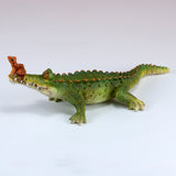 Chompie The Gator With Frog Alligator Figurine 4