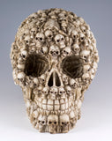 Skull Figurine With Skeletons and Bones 2