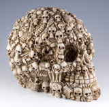 Skull Figurine With Skeletons and Bones 3