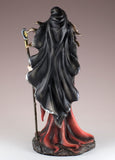 Witch Sorceress With Wand & Crystal Ball Figurine 3