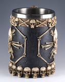 Skulls and Bones Mug/Stein 22 Oz. Stainless Steel Interior