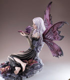 Fairy By Pond Giving Drink To Dragon Figurine
