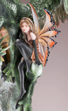 Green Dragon Guarding Fairy Figurine 3