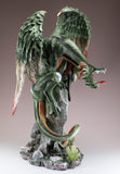 Green Dragon Guarding Fairy Figurine 6