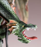 Green Dragon Guarding Fairy Figurine 7