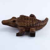 Alligator Hand Carved Ironwood Wood Figurine 3