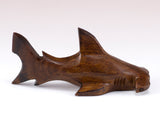 Hammerhead Shark Hand Carved Ironwood Wood Figurine 4