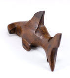 Hammerhead Shark Hand Carved Ironwood Wood Figurine 5