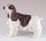 Springer Spaniel Brown and White Dog Figurine 2