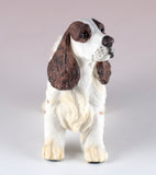 Springer Spaniel Brown and White Dog Figurine 3