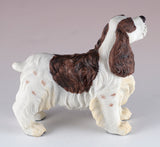 Springer Spaniel Brown and White Dog Figurine 4