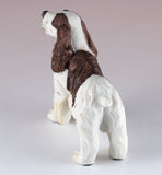 Springer Spaniel Brown and White Dog Figurine 5