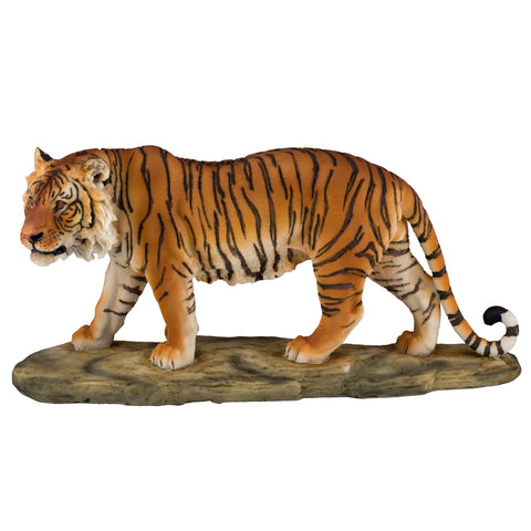 Yellow Bengal Tiger Figurine 5