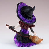 Hocus Pocus Cosplay Kids Witch On Broom Figurine 5