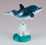 Bobble Dolphin On Spring Figurine 3